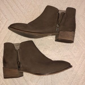 Seychelles Brown Leather Ankle Boots/Booties